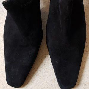 Moda Suede Slingbacks
